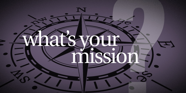 What's Your Mission? - The Vision Room