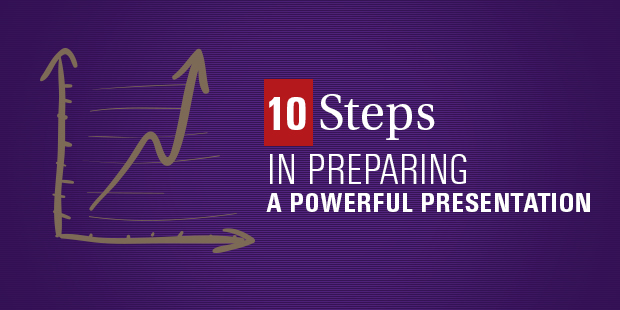 10 steps in preparing a powerful presentation the vision room